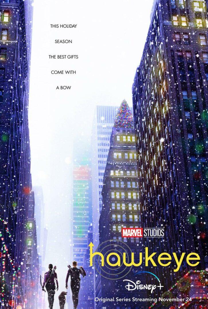 affiche série hawkeye