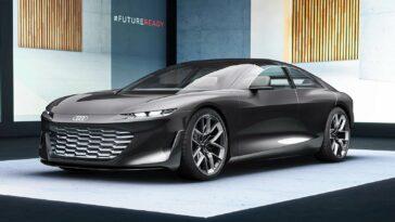 La voiture autonome Audi Grandsphere Concept