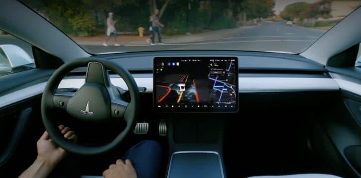 Aperçu du Full Self Driving de Tesla