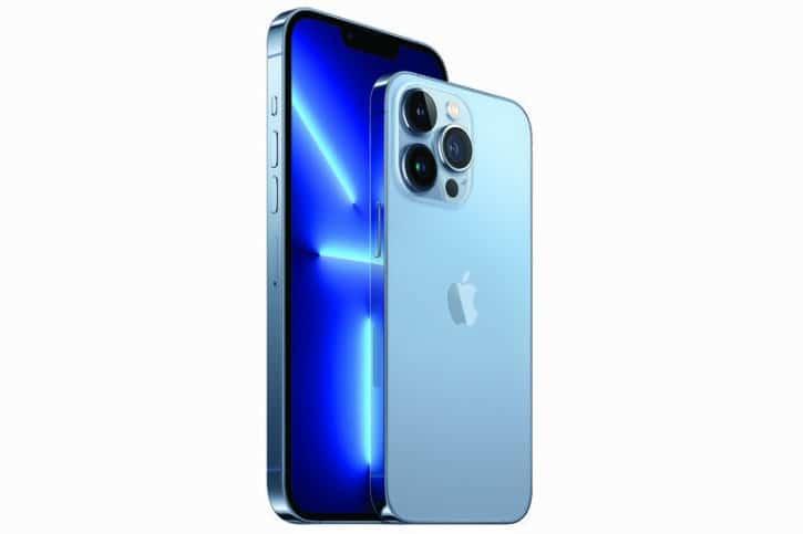 Apple iPhone 13 Pro et iPhone 13 Pro Max