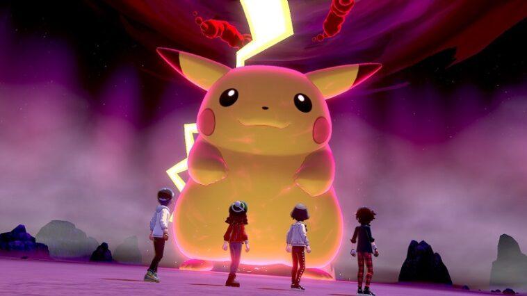 pokemon gigantamax pikachu