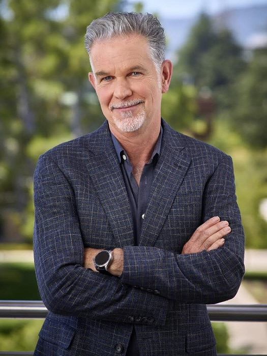 reed hastings, ceo netflix