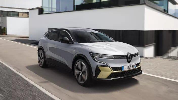 La voiture électrique Renault E-Tech Electric