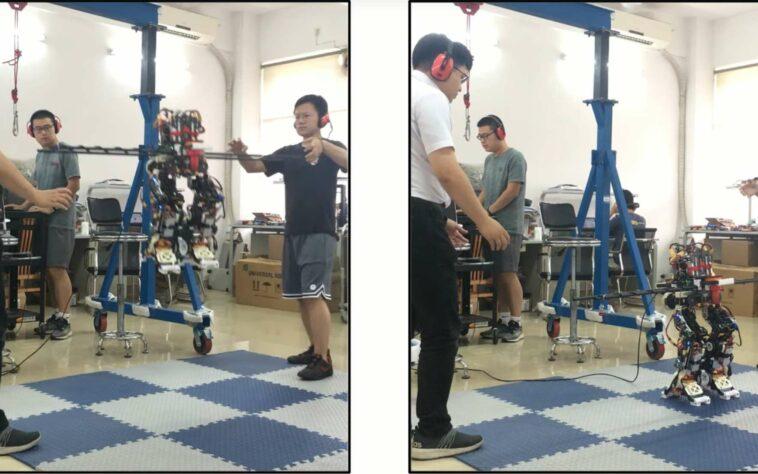 Le robot humanoïde volant baptisé Jet-HR2