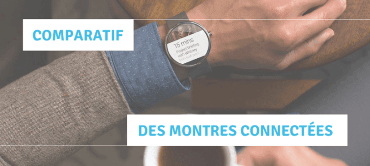 Comparatif montre connectée